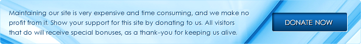 Banner: Please donate to keep this site alive